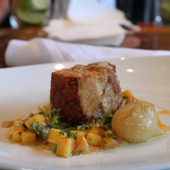 Crispy Pork Belly - Wood Tavern, Oakland, CA