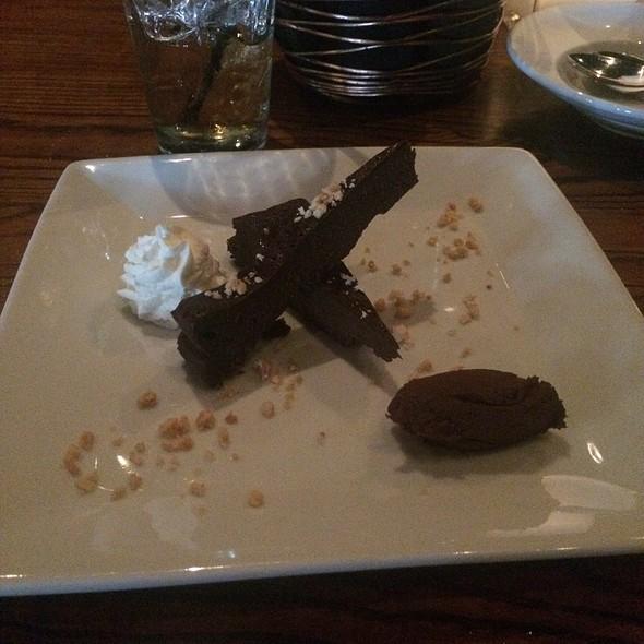 Chocolate torte - Rosso Trattoria Italia, Columbia, SC