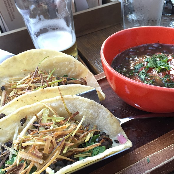 Lentil Tacos With Fried Leeks - Red Feather Lounge, Boise, ID