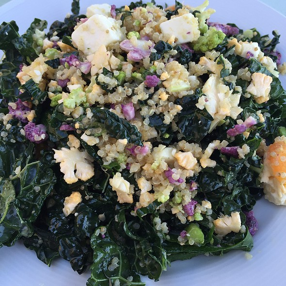 Kale Salad - Marisol at the Cliffs Resort, Pismo Beach, CA