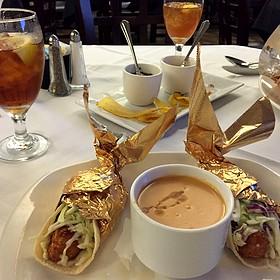 Grouper Tacos - Rudy & Paco Restaurant & Bar, Galveston, TX