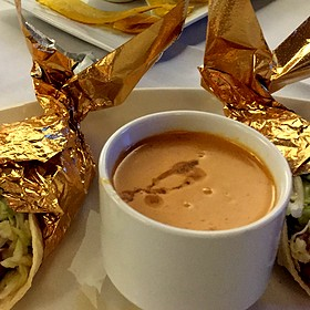 Crab Bisque - Rudy & Paco Restaurant & Bar, Galveston, TX