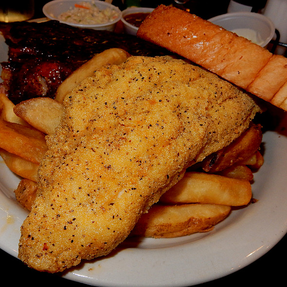 Fried Catfish Meal - Blues City Cafe, Memphis, TN