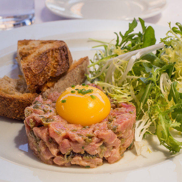 steak tartare - Angèle Restaurant & Bar, Napa, CA