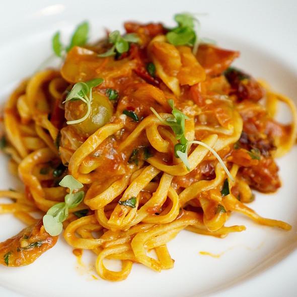 Hand cut spaghetti pomodoro - Allium, Chicago, IL