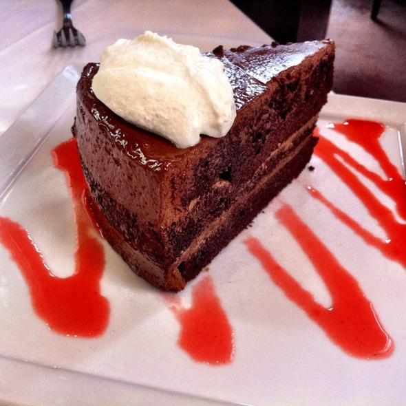 Fudge Layer Cake - Tellers: An American Chophouse, Islip, NY