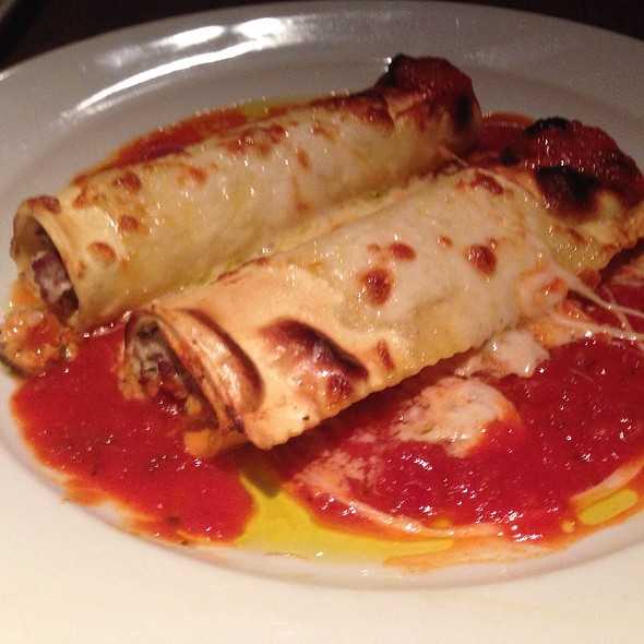Elk Cannelloni - Cafe Med Restaurant, Deerfield Beach, FL
