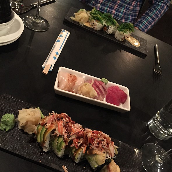 Sushi and Sashimi - Parallax Restaurant & Lounge, Cleveland, OH