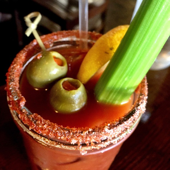Spicy Bloody Mary - The Tipsy Pig, San Francisco, CA