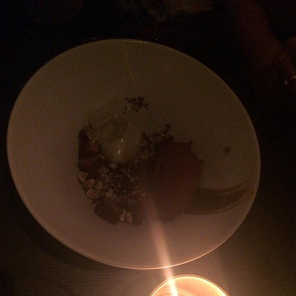 Chocolate Pistachio Cremoso - Buddakan NY, New York, NY