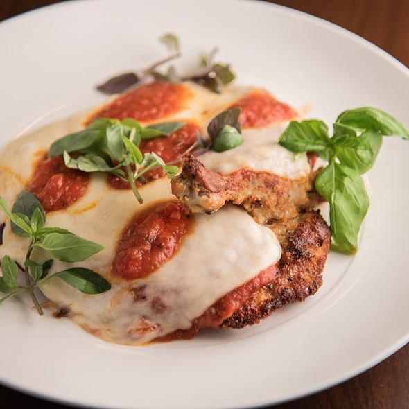 Chicken Parmigiana - Trattoria Il Mulino - Nashville, Nashville, TN
