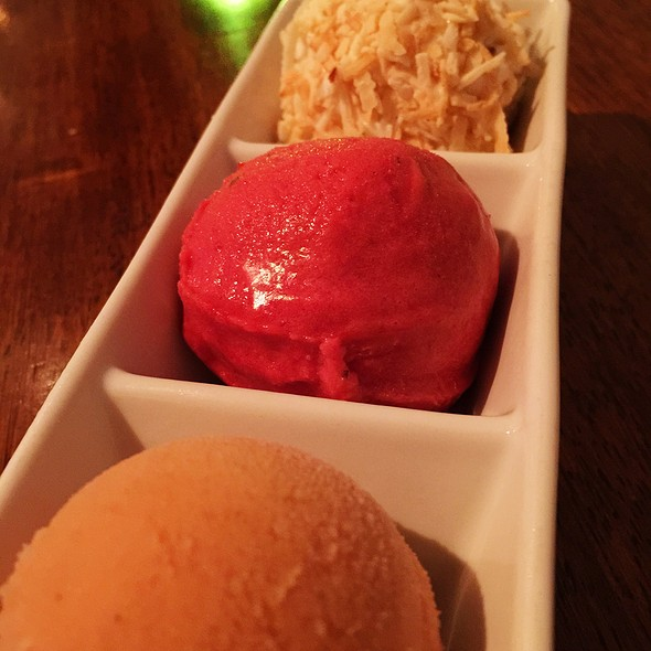 Trio of Sorbets - Vedge, Philadelphia, PA
