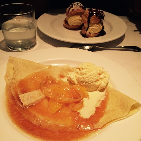 Crepe Suzette And Cream Puffs - Mon Ami Gabi - Reston, Reston, VA