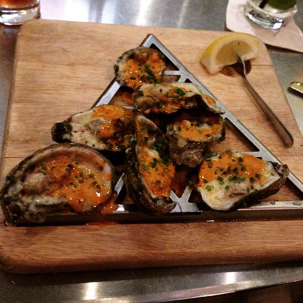 BBQ Oysters - The Grand Marlin of Pensacola Beach, Pensacola, FL