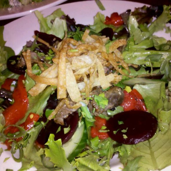 Pacific Rim Salad - Newell House, Carbondale, IL