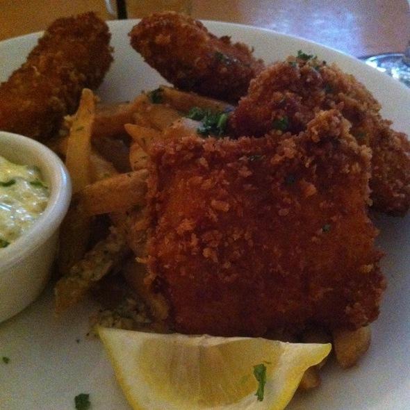 Fish and Chips - Gordon Biersch Brewery Restaurant - Midtown, Atlanta, GA