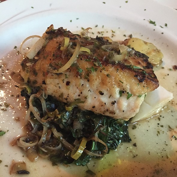 Halibut - Michaelangelo's, Cleveland, OH