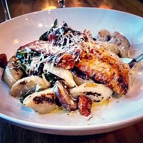 Salmon Florentine - Indulge Bistro and Wine Bar - Golden, Golden, CO