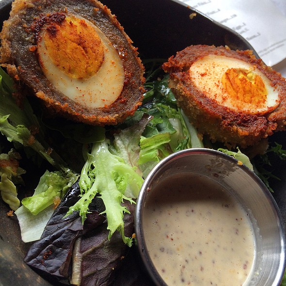 Scotch Eggs - Scottish Arms, St. Louis, MO