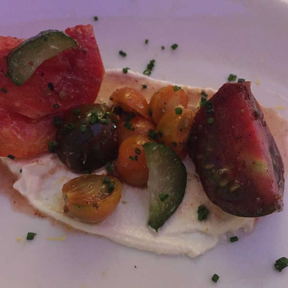 Heirloom Tomato Salad - Proof on Main, Louisville, KY