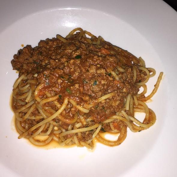 Spaghetti with Bolognese Sauce - Cafe Pro Bono, Palo Alto, CA