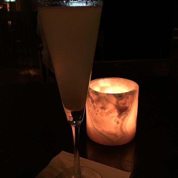 Sparkler Cocktail - City Table, Boston, MA