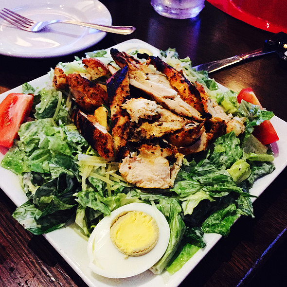 Chicken Caesar Salad - Fireplace Inn, Chicago, IL