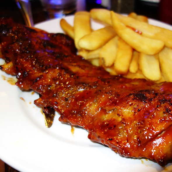 Baby Back Ribs - Fireplace Inn, Chicago, IL