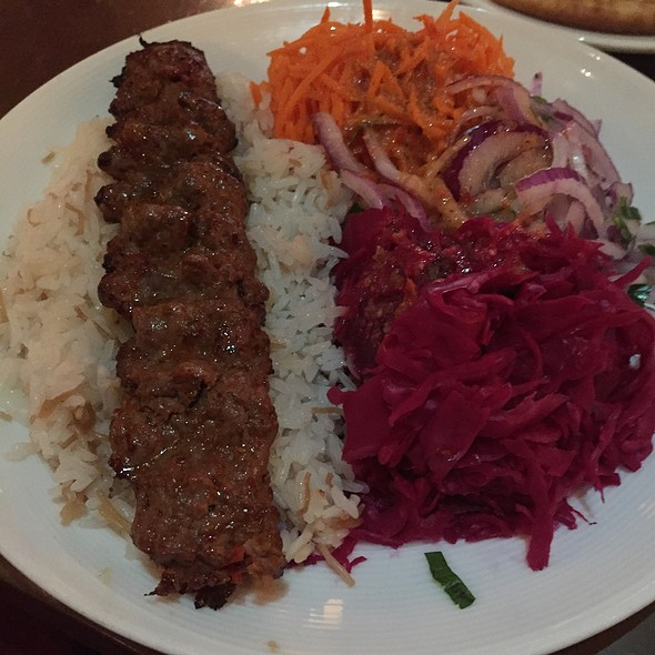Grilled Lamb Adana Kebap - Bosphorous Turkish Cuisine - Winter Park, Winter Park, FL