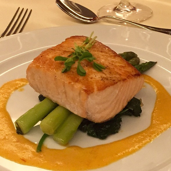 Seared Salmon - Brasserie 8 1/2, New York, NY