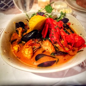 Cioppino - Atlantic Fish, Boston, MA