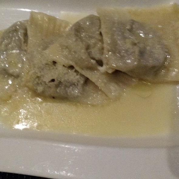 Artichoke Ravioli - Peppercorns Grill, Hartford, CT