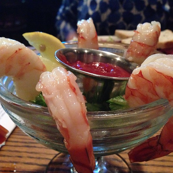Jumbo shrimp cocktail - Tam O'Shanter, Los Angeles, CA