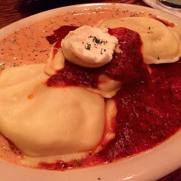 Ravioli Tre Modi - Delmonico's Italian Steakhouse - Albany, Albany, NY