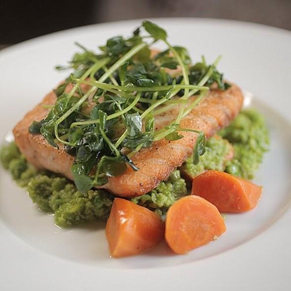 Seared Salmon - La Caille Restaurant, Sandy, UT