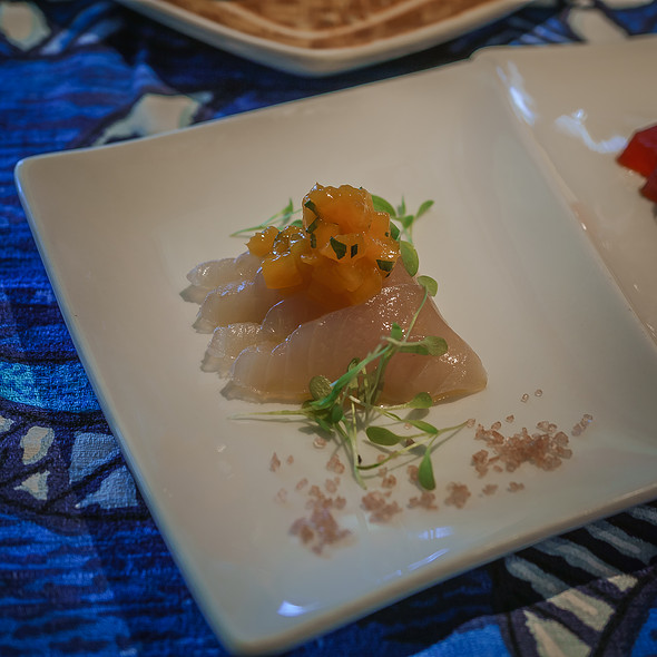 Onaga Sashimi - Mama's Fish House, Paia, HI