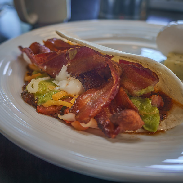 Breakfast Tortilla w/ Bacon - Son'z Steakhouse, Lahaina, HI