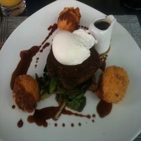 Steak And Poached Eggs - Zinc Restaurant, Edmonton, AB