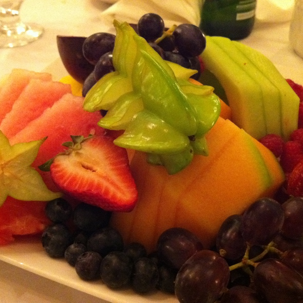 Fruit Plate - Old Mill Toronto, Toronto, ON