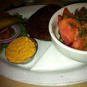 Veggie Burger - Blue Plate Diner, Edmonton, AB