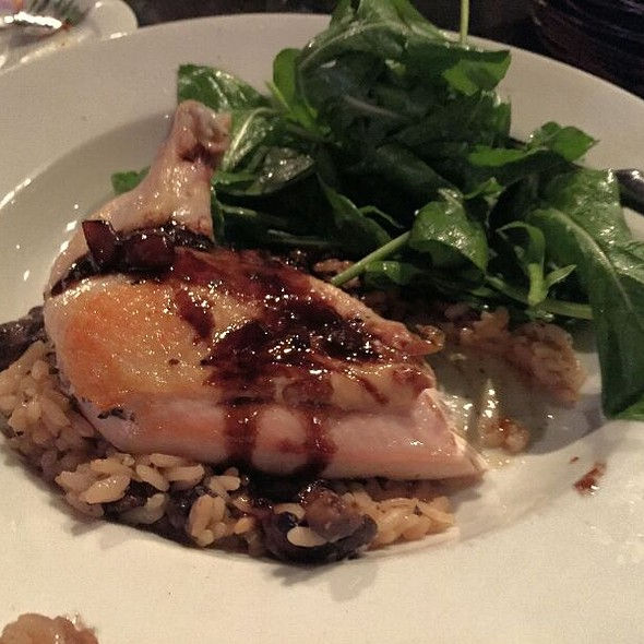 Airline Chicken With Caramelized Onions And Balsamic Reduction Sauce  - Rosso Trattoria Italia, Columbia, SC