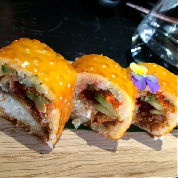 Soft-shell Crab Roll - Aqua Kyoto, London