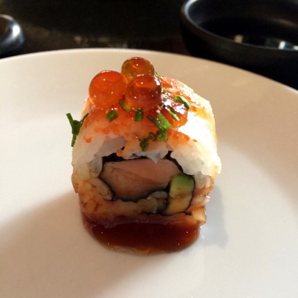 Salmon & Avocado Harumaki - Aqua Kyoto, London