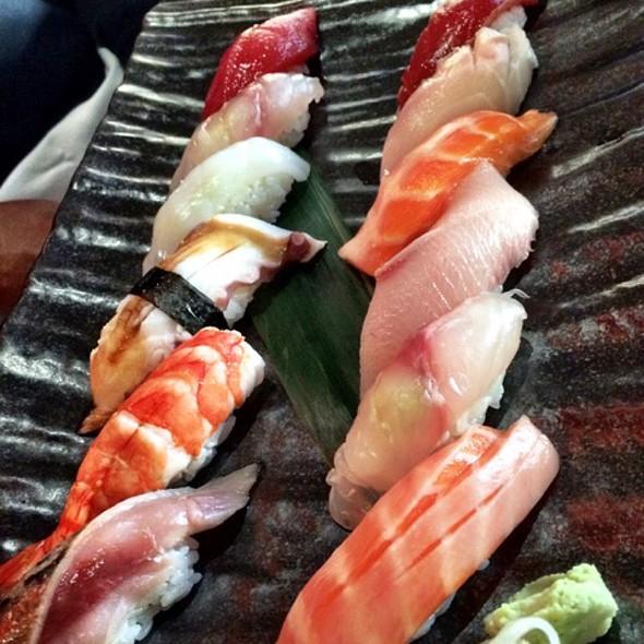 Sushi Platter - Aqua Kyoto, London