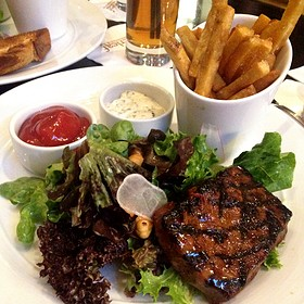 Steak-Frites - Copperleaf Restaurant at Cedarbrook Lodge, Seattle, WA