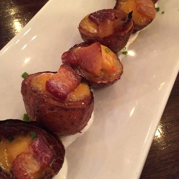 Bacon Potato Skins - 5 Napkin Burger - Upper West Side, New York, NY