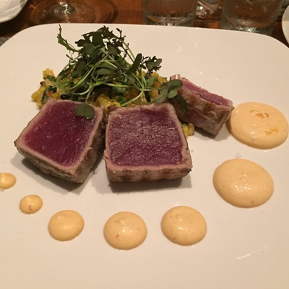 Yellow Fin Tuna - Sole, New Canaan, CT