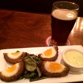 Scotch Egg - Kells Irish Restaurant & Pub, Portland, OR