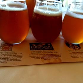 Ipa Beer Flight - Vigilucci's Ristorante Coronado, Coronado, CA