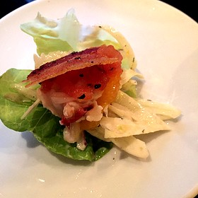 Ahi Tuna Lettuce Cups - Fleming's Steakhouse - Beverly Hills, Beverly Hills, CA